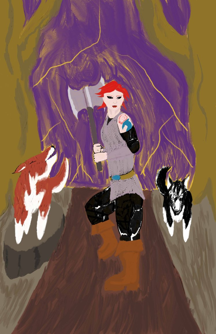 Red_Krista Procreate